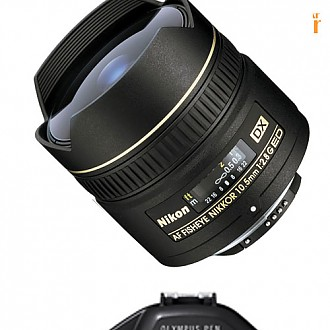 Olympus Pen (Water Proof) with Nikon 10.5mm F2.8